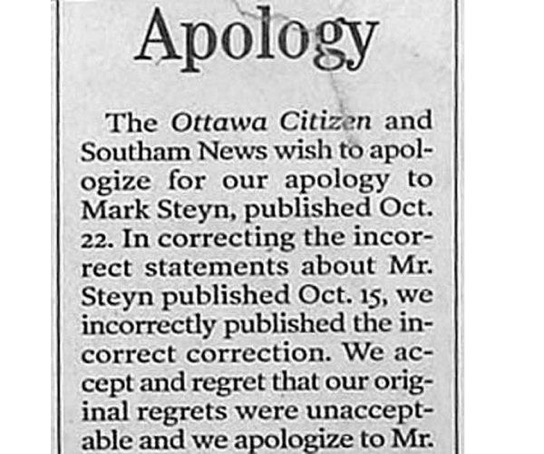 Apology for an apology-Hilarious Public Apologies