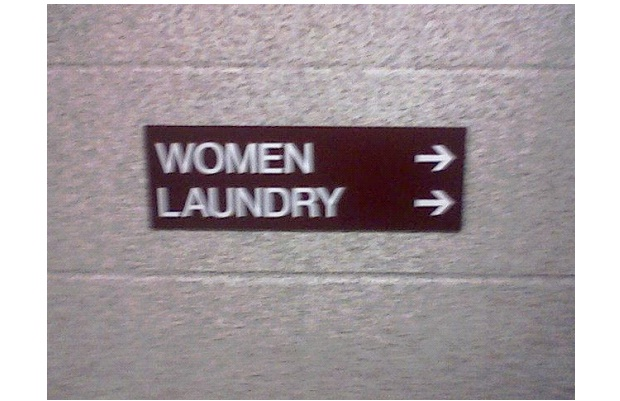 Laundry For Women-Unbelievable Sexist Signs