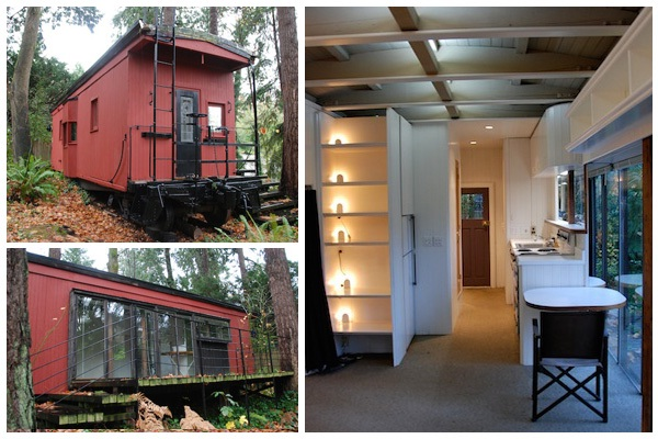 Quaint Disused Cabin-Coolest Homes Made From Vehicles