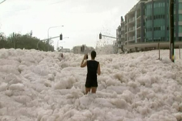 Sea foam-Most Fascinating Natural Phenomena
