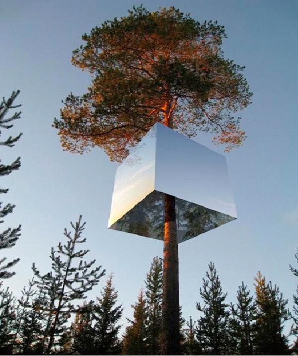 The Mirror Cube-Weirdest Hotels In The World