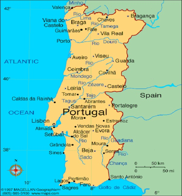 Portuguese-Most Spoken Languages In The World