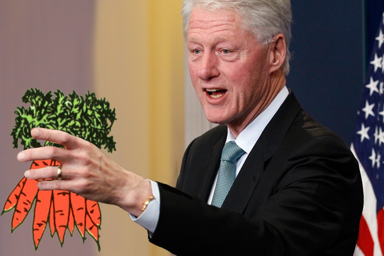 Bill Clinton-Celebs Who Support Environmental Causes