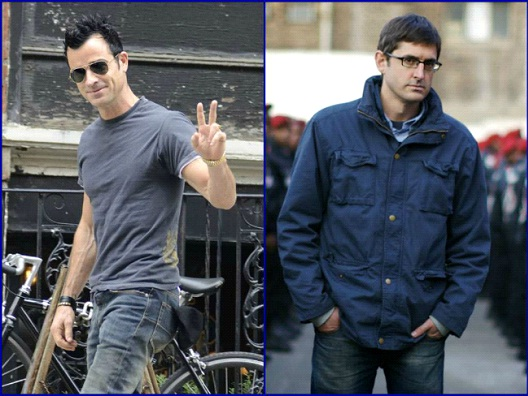 Justin Theroux & Louis Theroux-12 Celebrity Cousins You Probably Didn't Know About