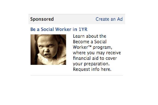 Devil child-Worst Facebook Ads