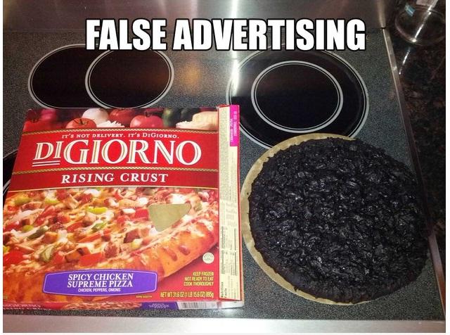 false advertising-Hilarious Examples Of False Advertising