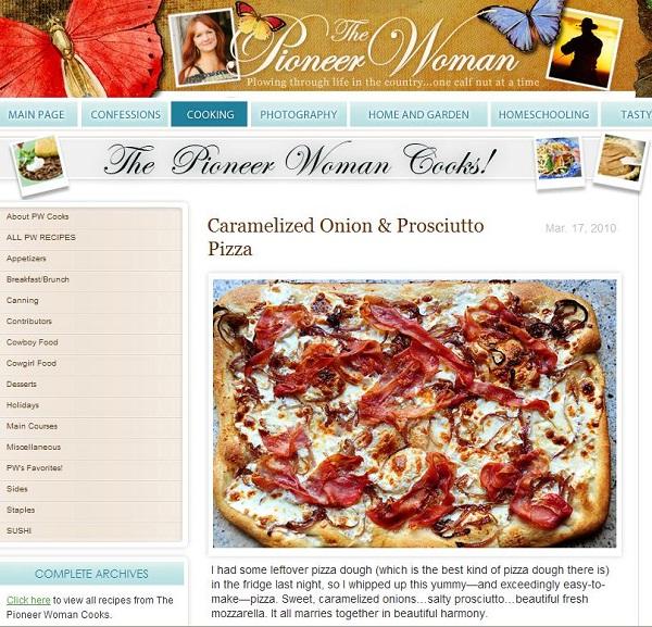 Thepioneerwoman.com-Best Recipe Websites