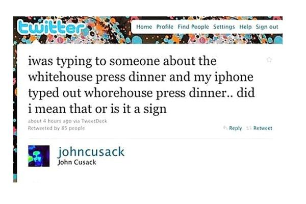 John Cusack-Funny Celeb Tweets