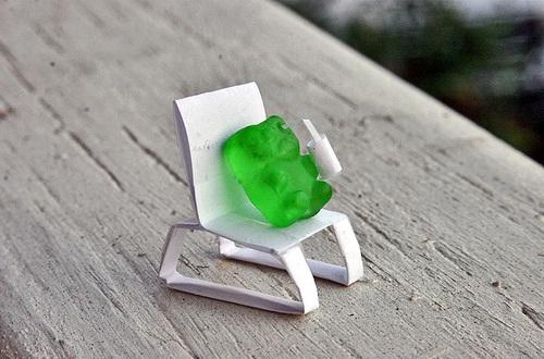 Green Gummi bear-Jamba Juice Secret Menu Items You Didn't Know