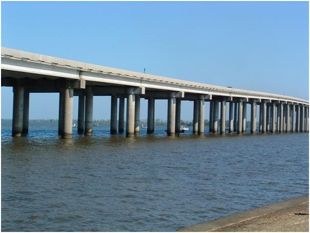 Manchac Swamp Bridge-Longest Bridges In The World
