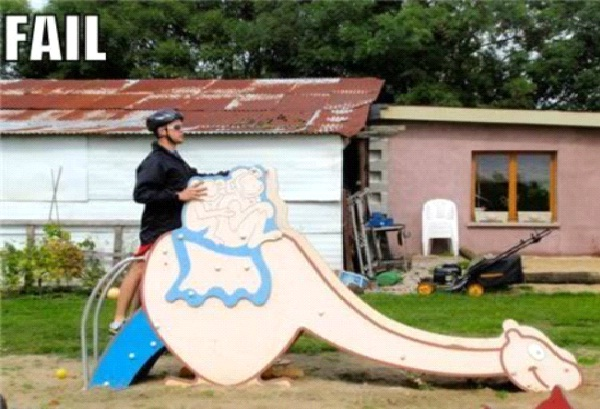 From Behind-Most Inappropriate Playgrounds