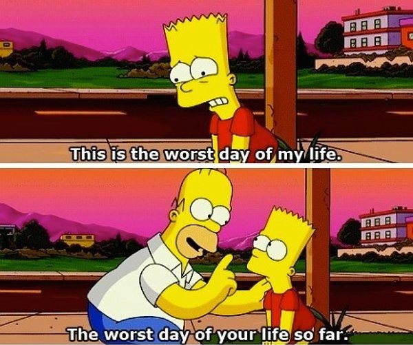 Worst day-Best Simpsons Quotes