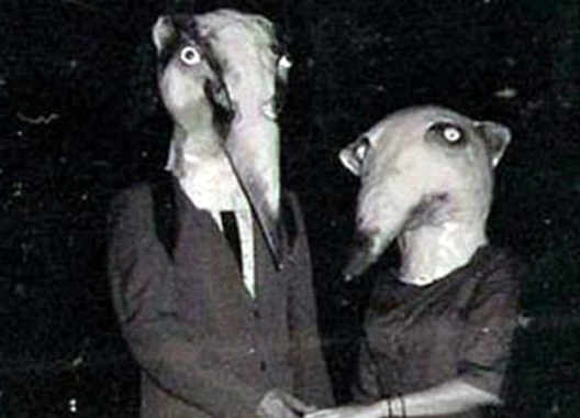 Ant Eaters-Most Terrifying Vintage Halloween Costumes Ever