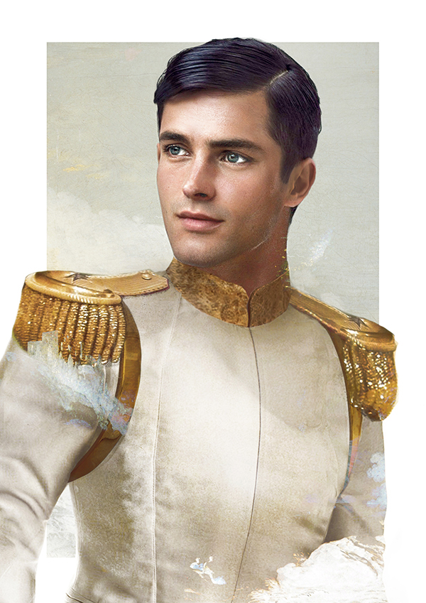 Prince Charming-15 Real Life Illustrations Of Disney Characters