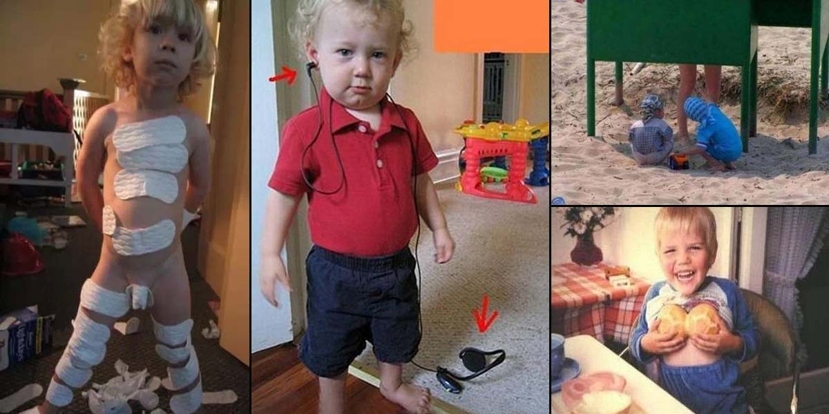 15 Times Kids Were Found Being Silly and Funny