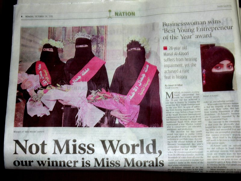 Miss Beautiful Morals-12 Bizarre Beauty Contests Around The World