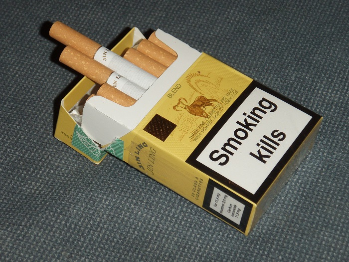 Pack of Cigarettes-15 Weird Things Kids Got On Halloween Trick-or-Treat