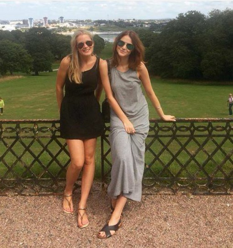 Two Pretty Ladies...-When You Notice What's Wrong With These Pictures, You Will Freak Out