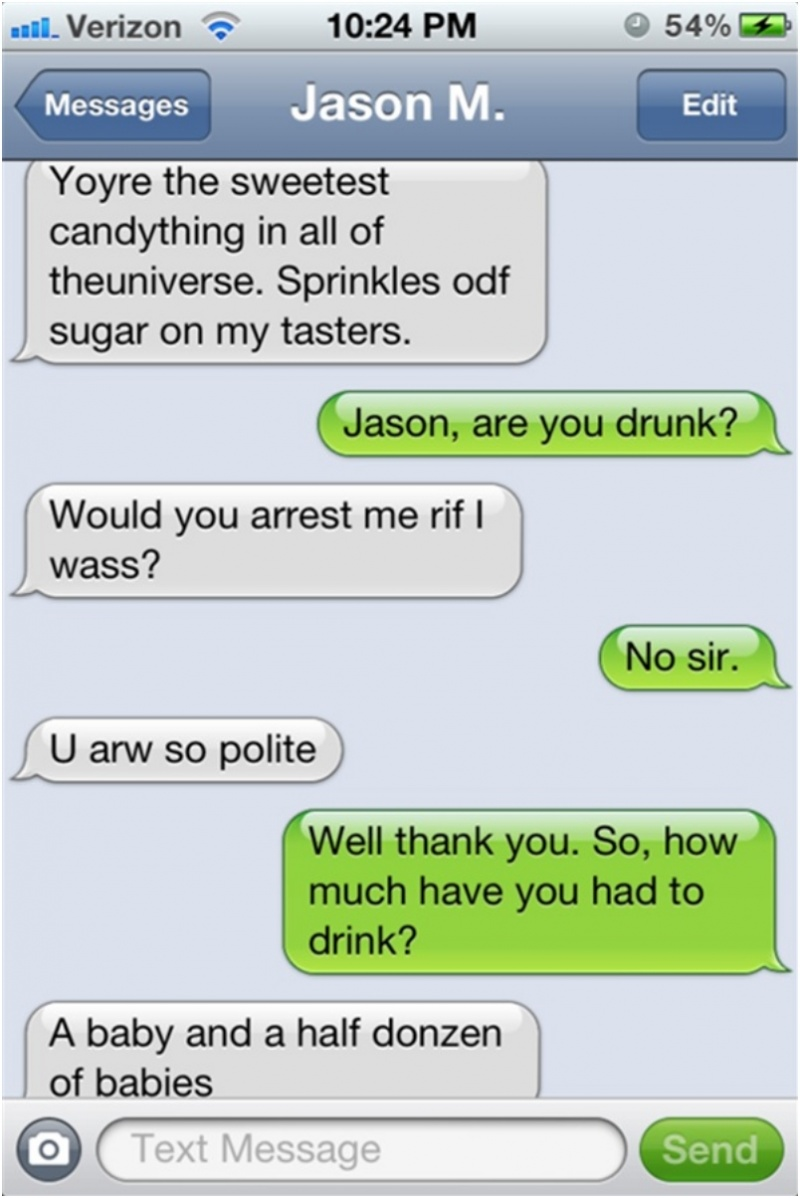 A Baby and Half a Dozen of Babies-15 Funniest Drunk Texts That Will Make You Lol
