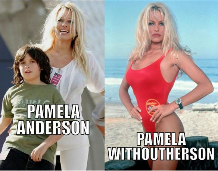 Pamela Anderson-15 Celebrity Name Puns That Are Hilarious