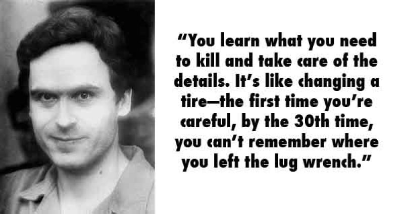 Ted Bundy, USA (1946 - 1989)-15 Serial Killer Quotes That Will Give Chills Down Your Spine