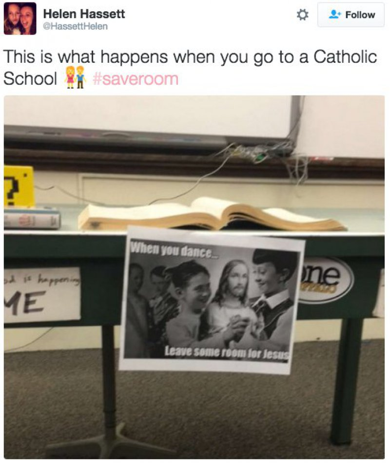 Leave Some Space for Jesus!-15 Tweets Only Catholics Will Understand