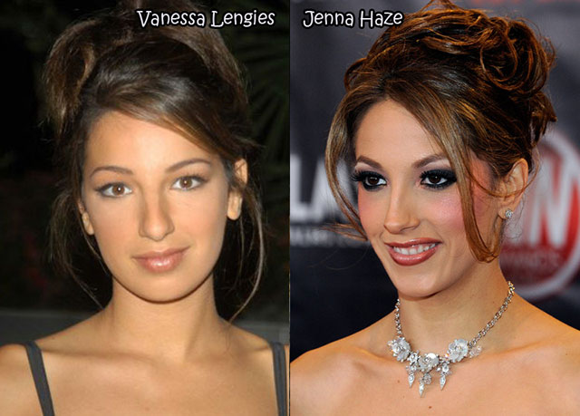 Vanessa Brittany Lengies Vs. Jenna Haze-Celebrities & Their Pornstar Lookalikes