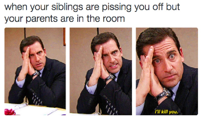 The Struggle is Real-15 Hilarious Images You Can Relate To If You Have Siblings