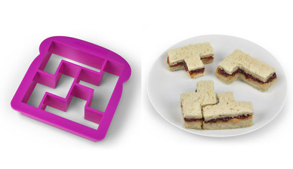 Tetris Sandwich maker-15 Geeky Kitchen Gadgets That Will Make Your Kitchen A Super Kitchen