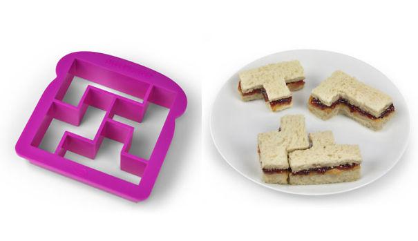 Tetris Sandwich maker-15 Geeky Kitchen Gadgets That Will Make Your Kitchen A Super Kitchen