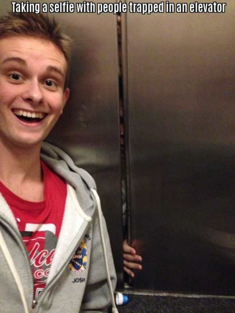 This Highly Inappropriate Selfie-15 People Who Just Want To Watch The World Burn
