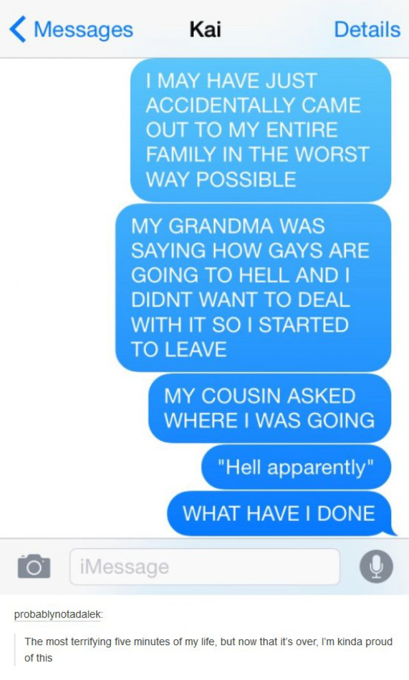 'Coming out' like a Boss-15 Hilarious Coming Out Stories That Didn't Go As Expected