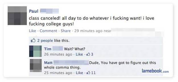Comma Sutra. This Guy Loves Fucking College Guys-15 Punctuation Fails That Went Horribly And Hilariously Wrong