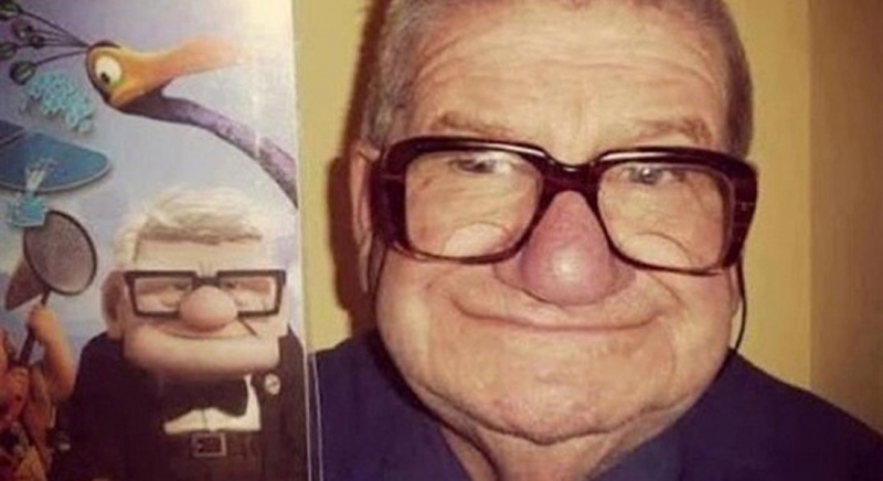 Cartoon characters & their real life counterparts