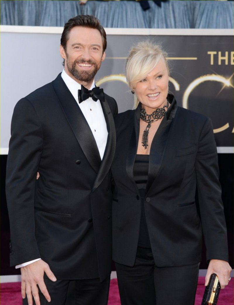 Hugh Jackman and Deborra-Lee Furness-15 Celebrity Couples With Unbelievably Big Age Gaps