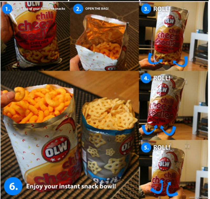 This is How You Need to Handle Your Bag of Chips-15 Things You've Been Doing Wrong Your Entire Life