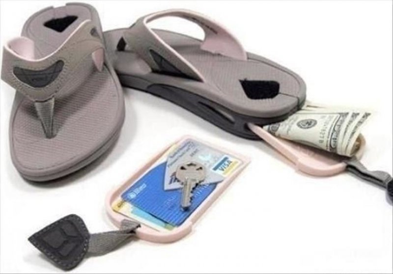 Reef Sandals-36 Strangest Gadgets That You Can Buy