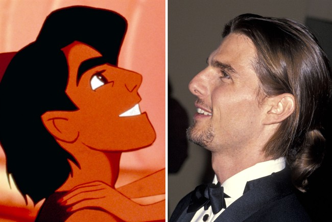 Aladdin Character was Modeled after Tom Cruise-15 Disney Movie Secrets You Don't Know