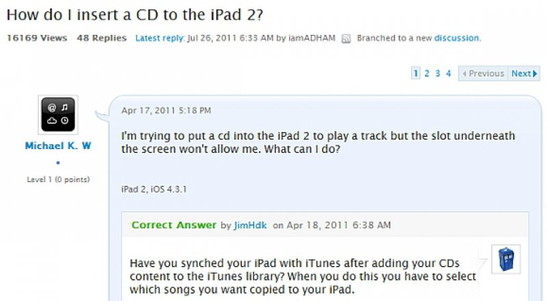 This Troll Question Found at Apple Support Forum-11 Times Customers Perfectly Trolled Brands On The Internet
