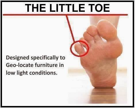 When You Slam Your Pinky Toe into a Door or a Piece of Furniture -15 Most Oddly Painful Things In The World