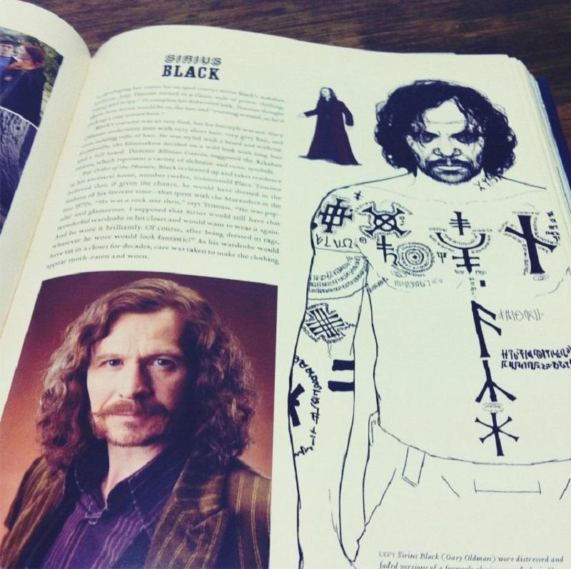 Prison sirius tattoos black [Harry Potter