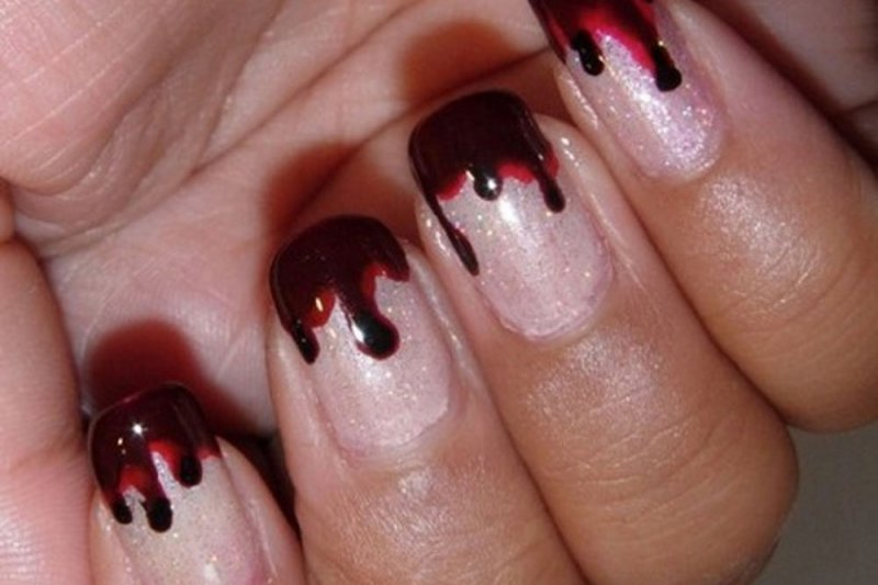 Bloody Nails-15 Amazing Nail Arts That You Must Try Once In Your Life