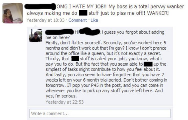 Easiest Way to Get Fired-15 Times Employees Got Fired By Their Boss