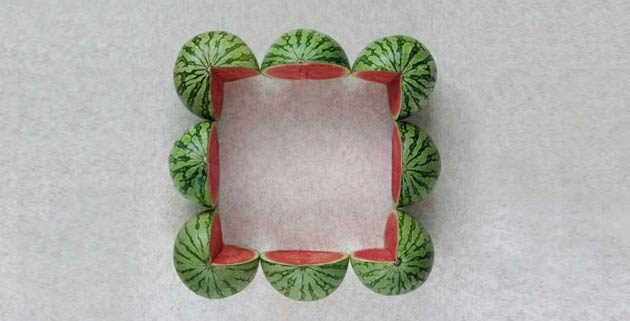 Square Watermelons -15 Photos That Show The Order In The World