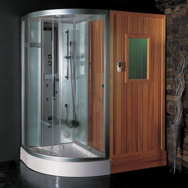 Sauna shower-Amazing Showers