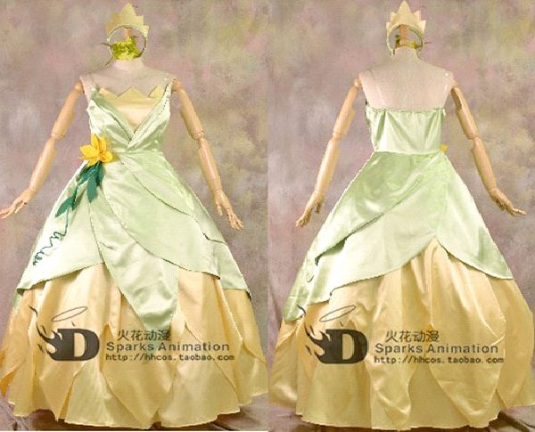 Tiana-Disney Dresses