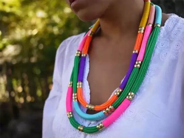Friendship necklace-DIY Jewelry Ideas
