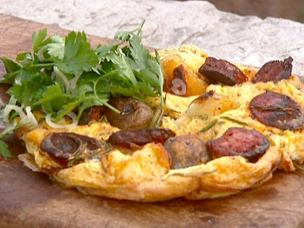 Potato & chorizo-Creative Omelettes
