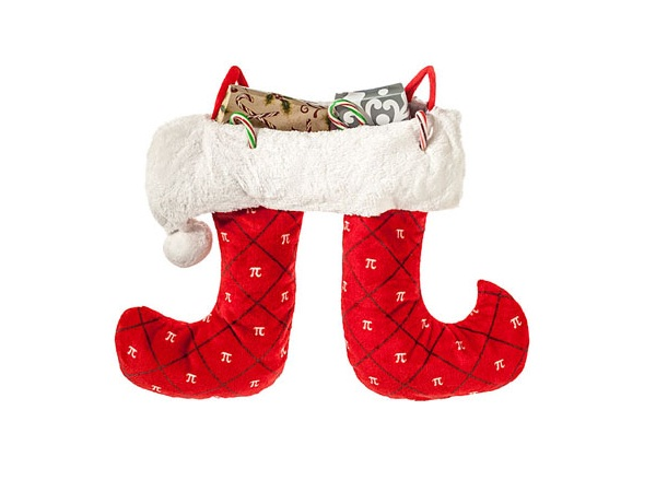 Pi stocking-Geeky Christmas Decorations