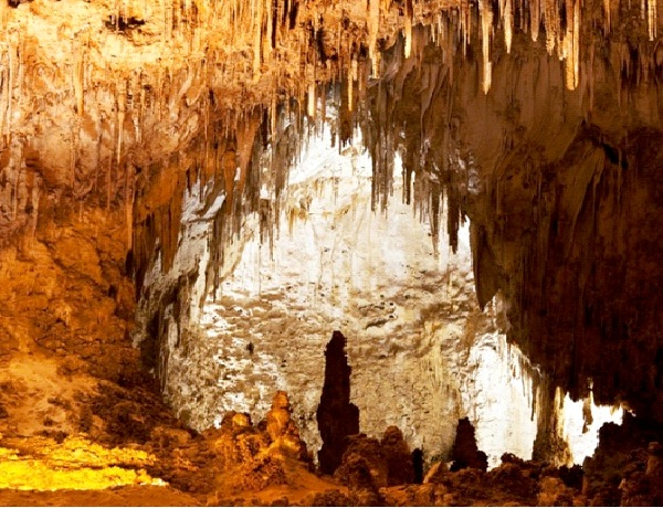 Carlsbad Caverns - Carlsbad, New Mexico-Beautiful Caves Around The World